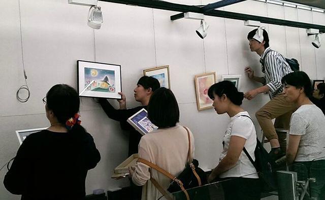 パステルシャインアート秋の展示会