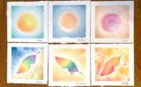 虹色の葉と秋色の葉/パステルシャインアート体験講座