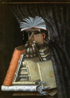 アルチンボルド『司書(bibliotecario)』