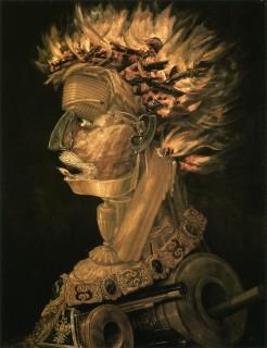 アルチンボルド『四大元素「火」(fuoco)』