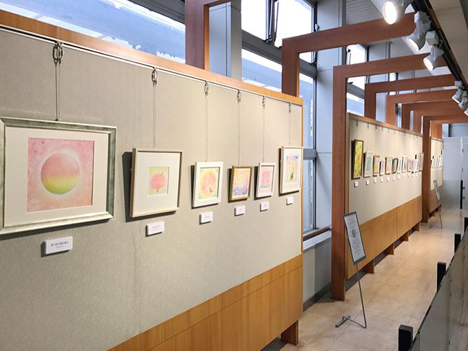パステルシャインアート春の展示会