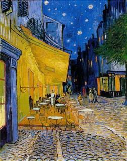ゴッホ『夜のカフェテラス(cafe_terrace_at_night)』