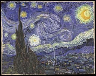ゴッホ『星月夜(starry_night)』