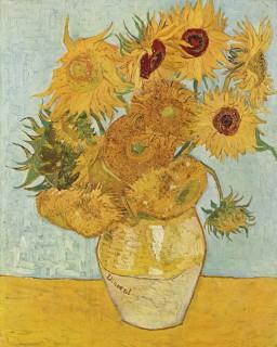 ゴッホ『12本のひまわり(vase_with_12_sunflowers)』