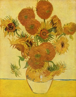 ゴッホ『15本のひまわり(vase_with_15_sunflowers)』