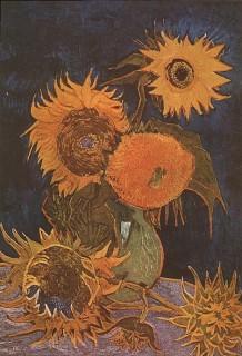 ゴッホ『5本のひまわり(vase_with_5_sunflowers)』