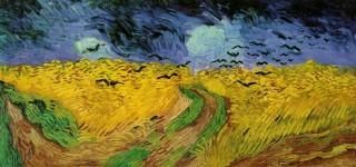 ゴッホ『カラスのいる麦畑(wheat_field_with_crows)』