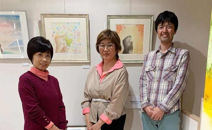 宮崎潤子展「やわらかいろの物語1~ひかりと希望編~」