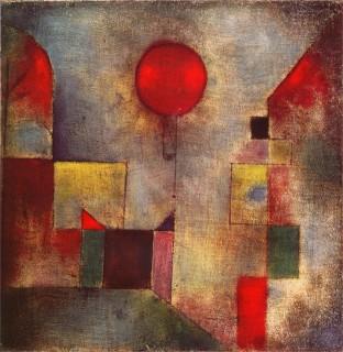 クレー『赤い気球(red balloon)』