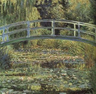 モネ『睡蓮の池と日本の橋』