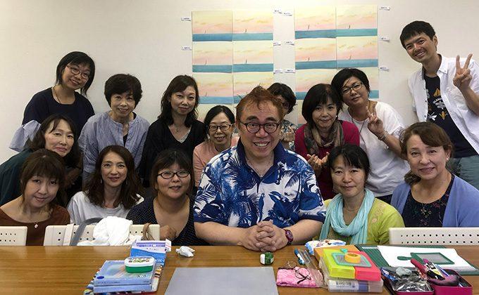 江村先生と葉祥明講座