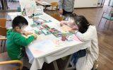 3歳子どもパステルシャインアート