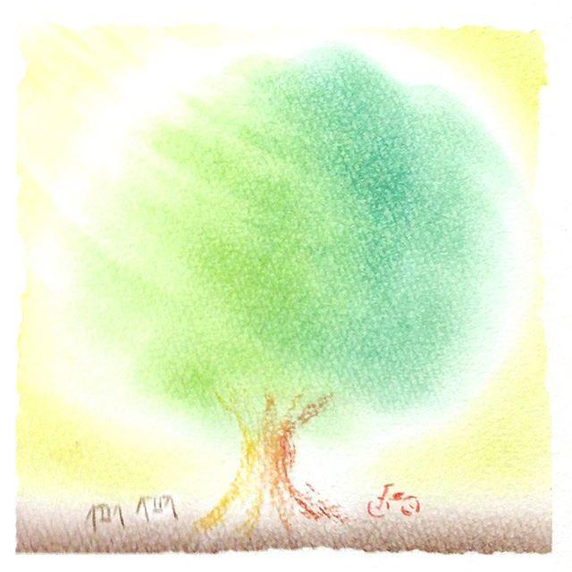 パステルシャインアート「木」