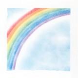 パステルシャインアート作品「虹」