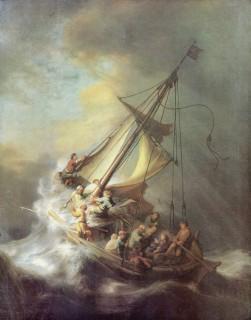 レンブラント『ガラリヤの海の嵐』