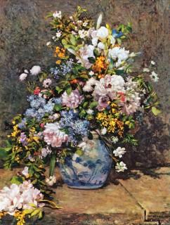 ルノワール『春の花束』
