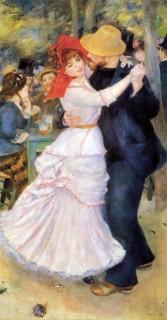 ルノワール『ブージヴァルのダンス』