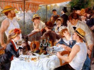 ルノワール『舟遊びの人々の昼食』