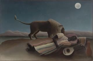 アンリ・ルソー『眠るジプシー女(the_sleeping_gypsy)』