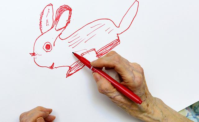 高齢者のアートセラピー