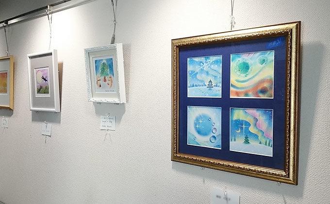 第15回 パステルシャインアートin関西 ギャラリー展