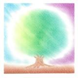 パステルシャインアート作品「木」