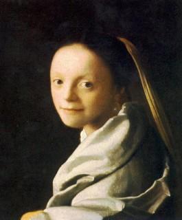フェルメール『少女(portrait_of_a_young_woman)』