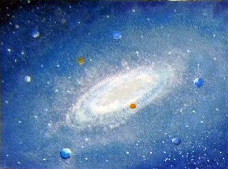 葉祥明『銀河』